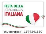 festa della repubblica italiana.... | Shutterstock .eps vector #1974241880