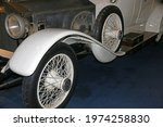 Wheel Of A Vintage Car