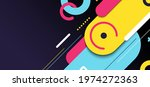 abstract banner web template...   Shutterstock .eps vector #1974272363