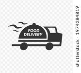 transparent food delivery icon...