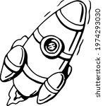 space set vector illustration...   Shutterstock .eps vector #1974293030