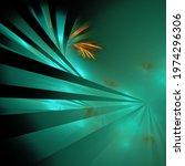 Turquoise Radial Illuminated...