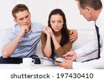 expert advice. thoughtful young ... | Shutterstock . vector #197430410