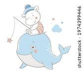 vector illustration of a cute...   Shutterstock .eps vector #1974399446