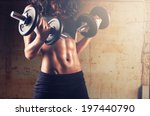 fitness woman in training... | Shutterstock . vector #197440790