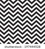geometric zigzag seamless... | Shutterstock .eps vector #197444528