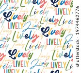 """colourful hand draw typography """"... 
