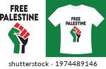free gaza free palestine...   Shutterstock .eps vector #1974489146