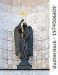 Bronze Statue Of An Angel...