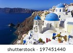 the famous iconic view of... | Shutterstock . vector #197451440