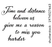 time and distance between us... | Shutterstock .eps vector #1974527663