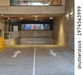 Underground Carpark Entry With...