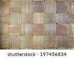 Handcraft Of Bamboo Weave...