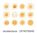 set of simple hand drawn doodle ... | Shutterstock .eps vector #1974578540