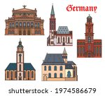 germany  architecture of...   Shutterstock .eps vector #1974586679