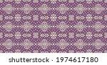 ikat geometric folklore...   Shutterstock .eps vector #1974617180