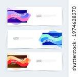 vector abstract graphic design...   Shutterstock .eps vector #1974628370