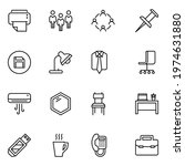 nature set line icons in flat...   Shutterstock .eps vector #1974631880
