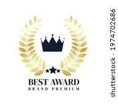 best seller award brand premium ... | Shutterstock .eps vector #1974702686