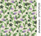seamless pattern with...   Shutterstock .eps vector #1974719120