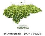 honduras map made up of green...   Shutterstock .eps vector #1974744326