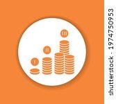 financial plan glyph icon. plan ...
