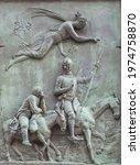 Bronze Reliefs With Don Quixote ...