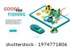 goods for fishing   modern... | Shutterstock .eps vector #1974771806