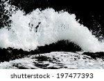 Water Wave Splashes  Isolated...