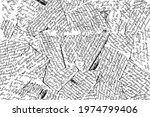 grunge texture of unreadable...   Shutterstock .eps vector #1974799406