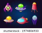 alien space ships  ufo rockets  ...