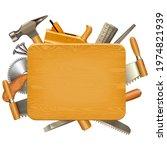 vector wooden board with...   Shutterstock .eps vector #1974821939