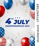 july  4 independence day in usa ... | Shutterstock .eps vector #1974907589