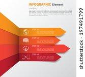 3d minimal infographics. vector   Shutterstock .eps vector #197491799