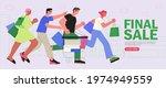 people shop online. e commerce... | Shutterstock .eps vector #1974949559