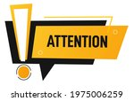 banner with exclamation mark ... | Shutterstock .eps vector #1975006259