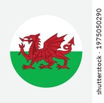 national wales flag  official... | Shutterstock .eps vector #1975050290