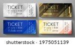 Admission Ticket Template Set....