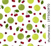 apple cherry juicy summer...   Shutterstock .eps vector #1975063970
