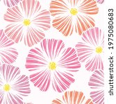 seamless pink  abstract... | Shutterstock .eps vector #1975080683
