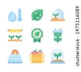 smart farm cute icon. gardening ...