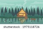 fisherman modern wooden stilt...   Shutterstock .eps vector #1975118726