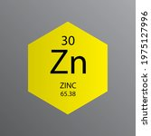 zn zinc transition metal... | Shutterstock .eps vector #1975127996
