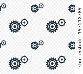 cog settings sign icon.... | Shutterstock . vector #197513789