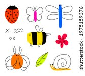 Bright Vector Set Of Funny...