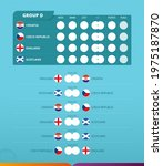 group d scoreboard of european... | Shutterstock .eps vector #1975187870