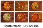 food set of different... | Shutterstock . vector #197521106