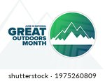 june is national great outdoors ...   Shutterstock .eps vector #1975260809