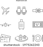 airport icon isolated on white...
