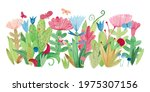 watercolor illustration with... | Shutterstock . vector #1975307156